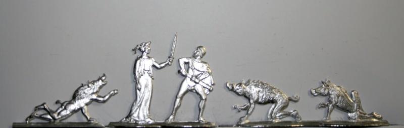 Odysseus , seine verzauberten Gefährten und die Zauberin Kirke A And S